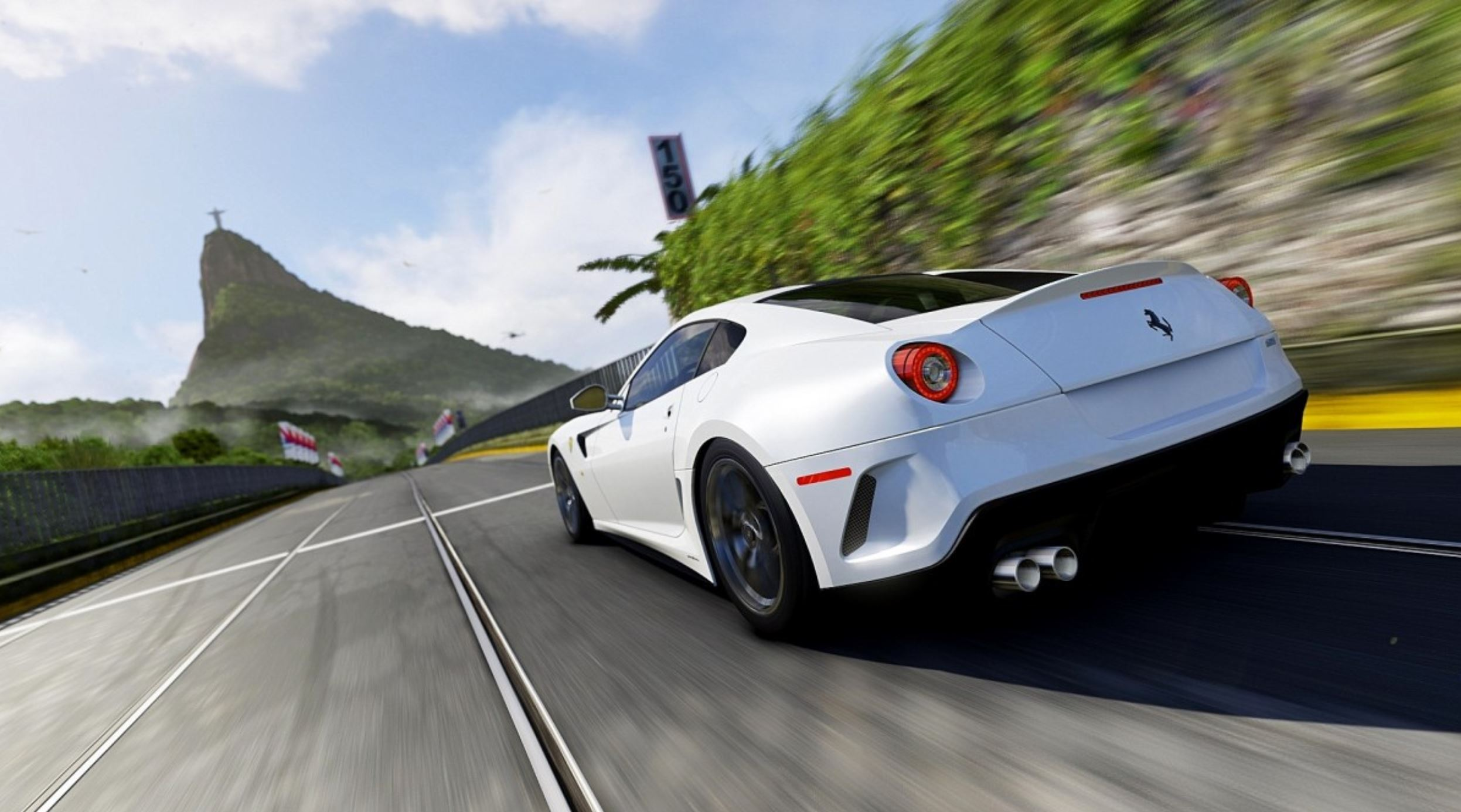 Would You Drive A Ferrari Without Brakes?